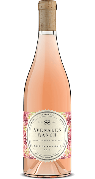 Bottle: Avenales Ranch Rosé of Valdiguie