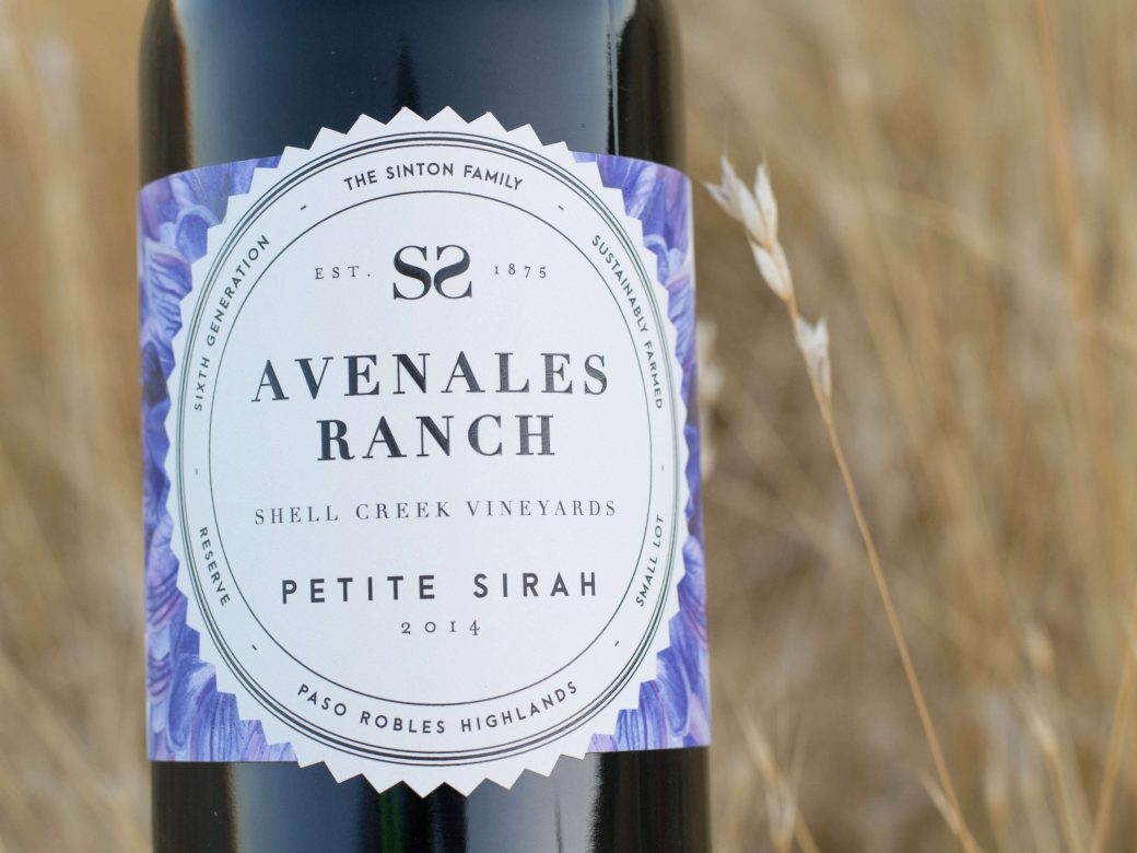 Photo: Bottle of Avenales Ranch Petite Sirah 2014