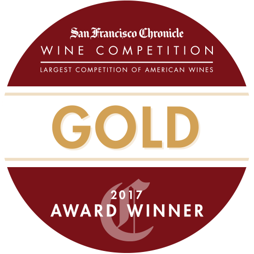 Label: San Francisco Chronicle Wine Competition Gold 2017 Award Winner