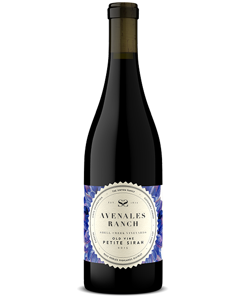 Bottle - Avenales Ranch 2015 Petite Sirah